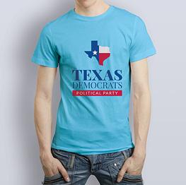 Men's T-shirt Blue