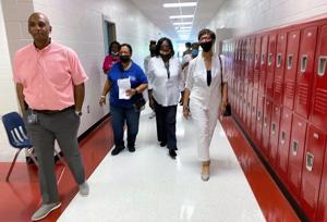 Orangeburg County School District trustees toured several schools on Tuesday to better acquaint themselves with the breadth of the consolidated school district. ...