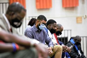 """""""We reclaim this site as a place of hope, transformation and learning,"""" the Rev. Ken Nelson said during a prayer vigil held at Orangeburg-Wilkinson High School on Sunday afternoon. ..."""