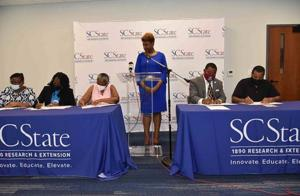 South Carolina State University 1890 Extension Midlands Region partnered with local childcare centers and after-school programs to sign a memorandum of agreement Wednesday, Aug. 18, that will leverage the power of...