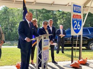 SWANSEA — South Carolina Gov. Henry McMaster urged state lawmakers Thursday to use $360 million in federal pandemic relief funds to jumpstart the widening of Interstate 26 between Charleston and Columbia....
