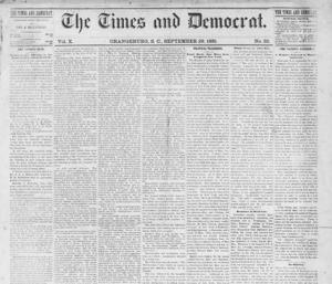 The Times and Democrat marks its 140th birthday on Wednesday, continuing as the source of local news and an engine for commerce in Orangeburg, Calhoun and Bamberg counties. Far different today...