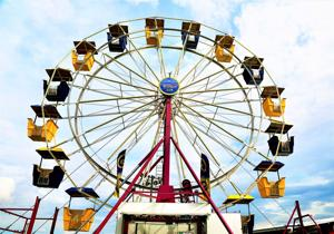 After a break last year, the rides have returned to the Orangeburg County Fairgrounds and the Ferris wheel is ready to go. ...