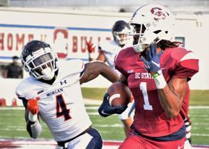 SC STATE FOOTBALL: Bulldogs celebrate 37-14 homecoming win